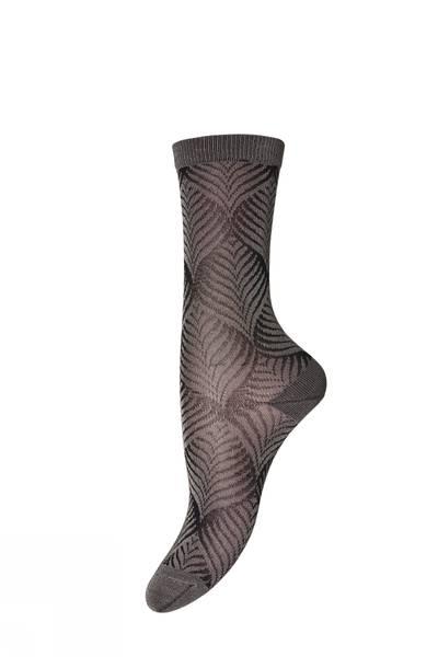 Bilde av MP - Ankle Leaf Sock Brown