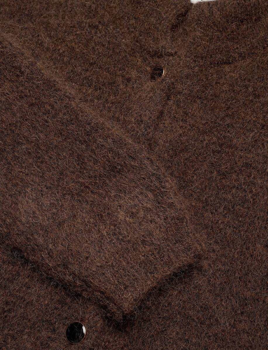 GESTUZ - DebbieGZ Short Cardigan Coffee Bean