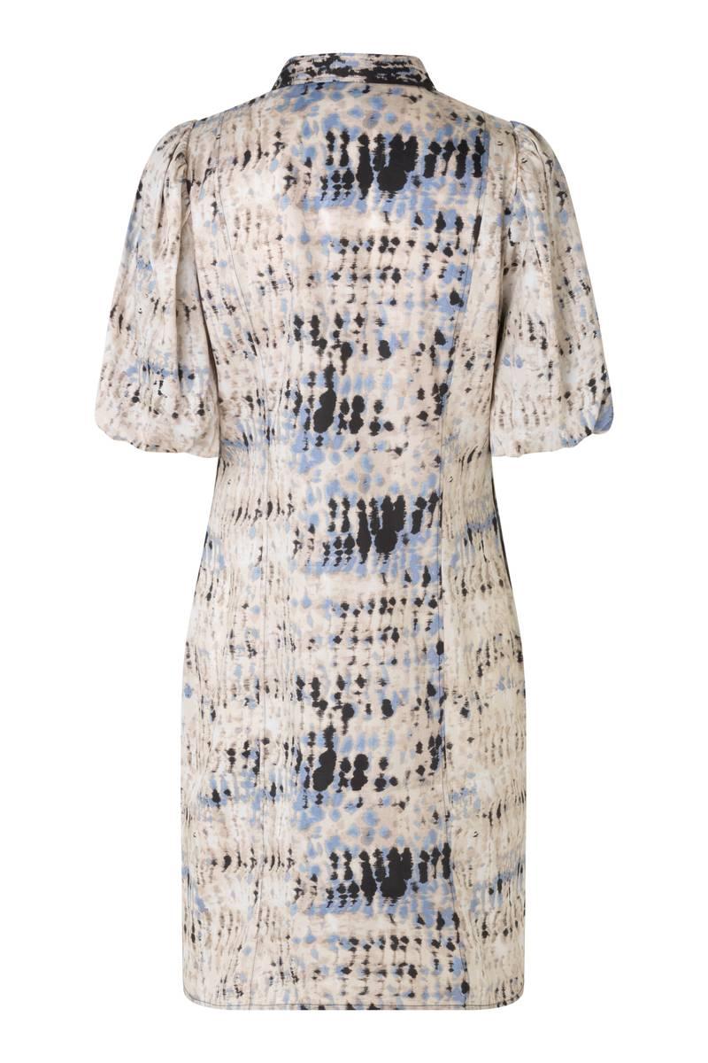 SECOND FEMALE - Santo Dress Black Blue Beige