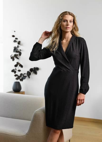 Bilde av RICCOVERO - Saint Dress Black